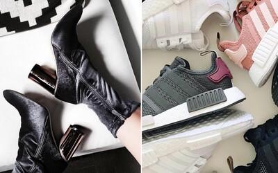 Toto je 5 nejžhavějších trendů v dámské obuvi pro rok 2017. Elegantní obuv i tenisky, které dodají tvému outfitu šmrnc