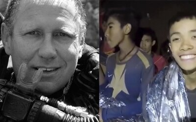 Toto je lekár, ktorý strávil s uväznenými chlapcami tri dni v jaskyni, aby dohliadol na ich zdravie