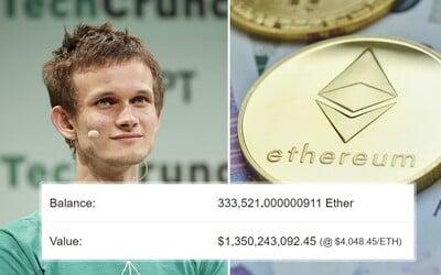 Toto je nejmladší kryptomiliardář světa. Vitalik Buterin má své mince na veřejné adrese, zanechal školy a pochází z Ruska