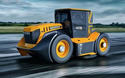 Toto je nejrychlejší traktor na světě, vytáhne až 247,47 km/h