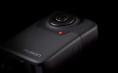Toto je nový král akčních kamer. GoPro Fusion zvládne natáčet 5,2K videa s až 360stupňovým záběrem
