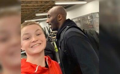 Toto je pravděpodobně poslední fotografie Kobeho Bryanta naživu