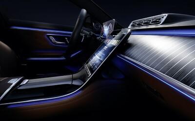 Toto je zcela nový interiér třídy S. Ne náhodou jde o vlajkovou loď Mercedesu