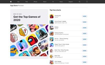 Toto jsou nejlepší aplikace roku 2020 podle společnosti Apple
