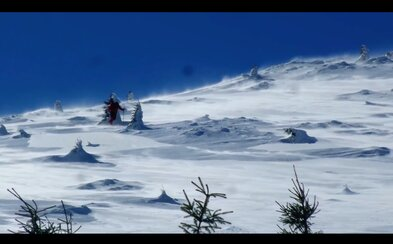 Toto sami neskúšajte: Slovák Andy natočil zábery silnej víchrice v Malej Fatre, ktorá miestami pripomína typické počasie na Sibíri