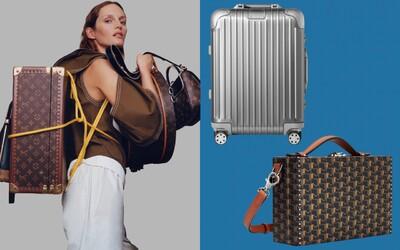 Toto sú dizajnérske kusy batožiny, do ktorých sa oplatí investovať a vydržia ti celý život