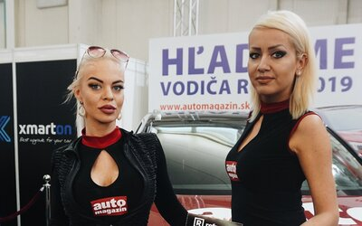 Toto sú hostesky bratislavského Autosalonu 2019