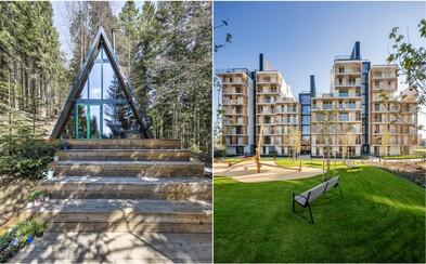 Toto sú najlepšie stavby za rok 2019: Romantická chata ukrytá v lese na Donovaloch či park postavený na cintoríne