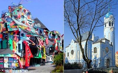 Toto sú najzvláštnejšie stavby, ktoré môžeš v Bratislave vidieť. Poznáš ich aj ty?