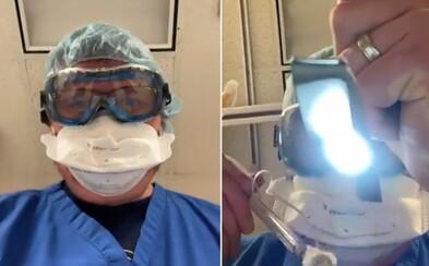 Toto uvidíš, keď budeš zomierať na Covid-19. Srdcervúce video lekára ukazuje trápenie, ak ignoruješ opatrenia