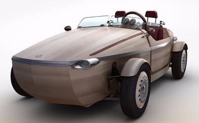 Toyota predstaví elektromobil z dreva. Má štýlový dizajn a zatiaľ si na ňom moc nezajazdíte