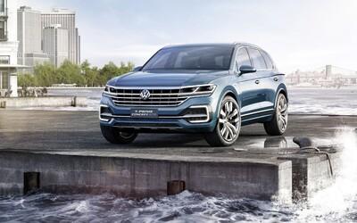 T-Prime GTE je takmer 400-koňový koncept, ktorým Volkswagen naznačuje svoje budúce luxusné SUV