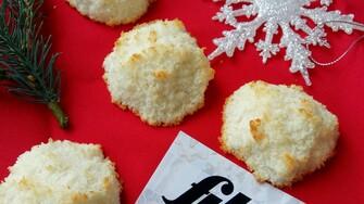 Tradičné vianočné kokosky bez cukru (Recept)