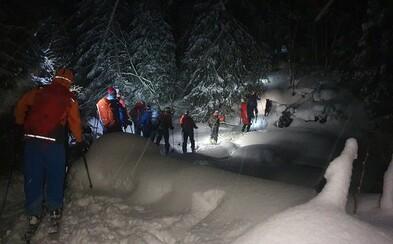 Tragédie v Tatrách: Lavina pohřbila dva polské skialpinisty. Třetímu muži se podařilo vyhrabat ze sněhu a přežít