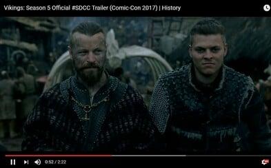 Trailer pre 5. sériu Vikingov sa nesie v znamení krvi, zrady a bratovražednej občianskej vojny