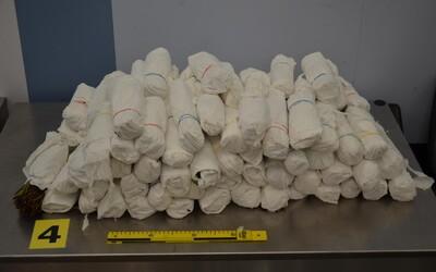 Traja cudzinci prepašovali do Prahy 142 kilogramov drogy katy jedlej. Jeden polícii stále uniká