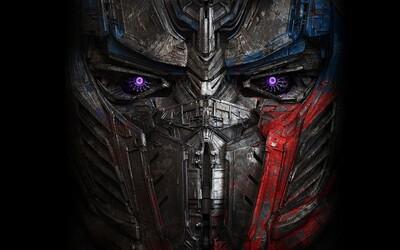 Transformers 5 s oficiálnym názvom The Last Knight a prvým záberom na Optimusa Primea