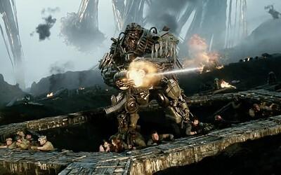 Transformery vyťahujú v krátkej upútavke blížiaceho sa epického traileru veľké zbrane a kanóny