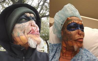 Transgender žena se chce operacemi proměnit v draka. Eva už má rozpůlený jazyk, odstraněné uši, přebarvené oči i umělé rohy