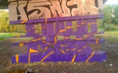 Transparentní graffiti z Karlových Varů obletělo svět! Jak dlouho vznikalo?