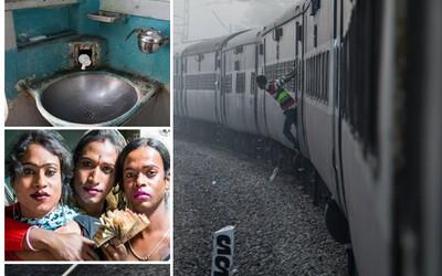 Transsexuálové a vozy naplněné k prasknutí. Nejdelší indická cesta vlakem přináší dobrodružné zážitky pro každého cestujícího