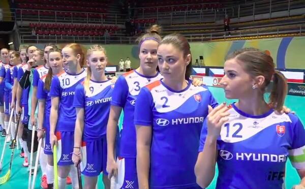 Trapas na MS: Slovenským florbalistkám zahráli českou hymnu