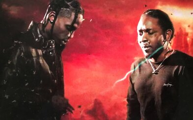 Travis Scott a Kendrick Lamar oslavujú úspech skladby Goosebumps psychedelickým videom