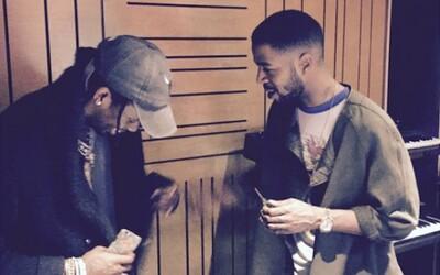Travis Scott sekunduje Kid Cudimu na skladbe Baptized in Fire z pripravovaného albumu