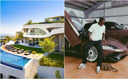 Travis Scott si koupil novou luxusní vilu za 23,5 milionu dolarů. Za majestátní rezidenci zaplatil v hotovosti