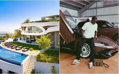 Travis Scott si kúpil novú luxusnú vilu za 23,5 milióna dolárov. Majestátnu rezidenciu vyplatil v hotovosti
