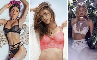 Trendy podprsenek ovládají celý módní svět. Vybereš si sexy krajkovou, nebo sportovní Calvin Klein?