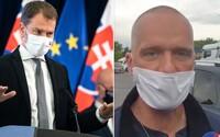 Tréneri z fitnescentier sú v Bratislave. Ak by zablokovali diaľnicu, Matovič by z toho chcel spraviť trestný čin