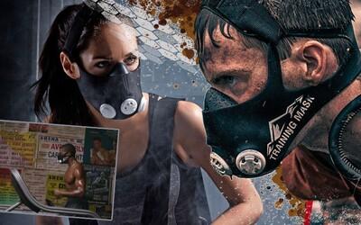 Tréninkové masky mají jedno využití, ale zlepšení výkonu to není