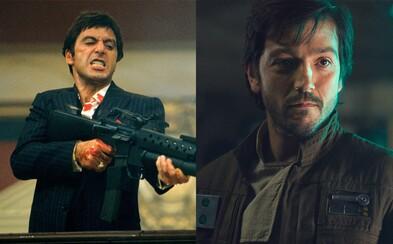 Tretie spracovanie Scarface, kedy Al Pacina vystrieda Diego Luna z Rogue One, napíšu bratia Coenovci
