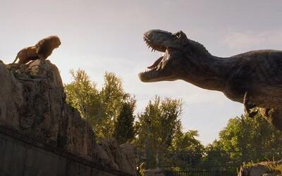 T-Rex versus lev! V Jurskom svete 2 uvidíme dinosaurov bojovať o teritórium v našej civilizácii či prírode