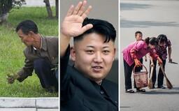 Trhajú trávu a zametajú cesty. Ako vyzerá bežný život ľudí Severnej Kórey a ako sa v krajine formoval systém plný strachu a teroru?
