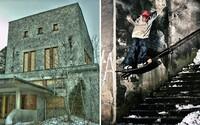 Trináste Spots prinesú snowboarding či free ski priamo v budove opustenej stanice lanovky v Tatranskej Lomnici