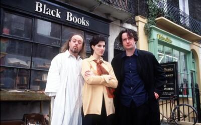 Trio alkoholik, neurotička a Ježiš? Pri Black Books budete plakať od smiechu! (Tip na seriál)