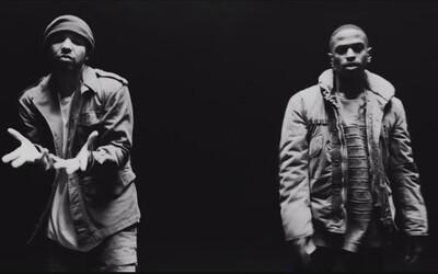 Trojica Big Sean, Drake a Kanye West je požehnaná v temnom videu na Blessings