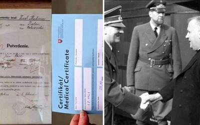 Trpíme ako Židia. Konšpirátor prirovnal certifikát z testovania k židovskému dokladu zo slovenského fašistického štátu