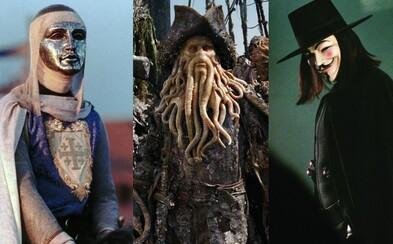 Trúfaš si uhádnuť, ktorý herec sa skrýva za maskou milovanej filmovej postavy? (Kvíz)
