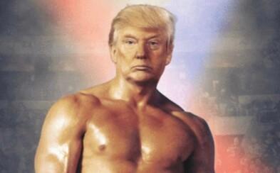 Trump sdílel fotku se svou hlavou na těle Rockyho. Nikdo neví, co to má znamenat