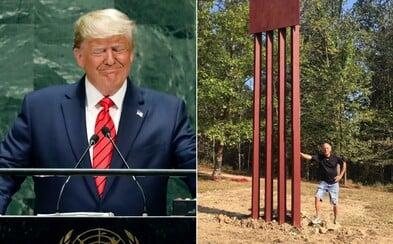 Trump tvrdí, že by jeho stenu proti imigrantom nepreliezli ani profesionálni horolezci. 75-ročný muž zorganizoval súťaž na replike