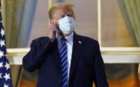Trump už není podle svého lékaře infekční. Neprozradil však, zda má negativní test