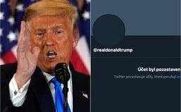 Trumpovi natrvalo vymazali účet na Twitteru s 89 miliony sledovatelů