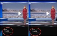 TV Markíza odvysielala dva dni po sebe rovnakú predpoveď počasia