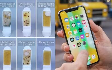 Tvoj smartfón je 10-krát špinavší ako záchod. Obrazovka je plná baktérií a nechutných kvasiniek