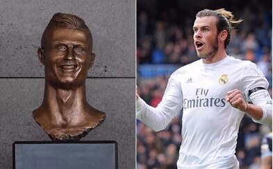 Tvůrce busty Cristiana Ronalda je zpátky. Jeho nový výtvor je však ještě horší a odnesl si to Gareth Bale