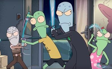 Tvorca Ricka a Mortyho predstavuje nový animovaný seriál. Mimozemská rodina pristane na Zemi a zažije úžasné dobrodružstvá