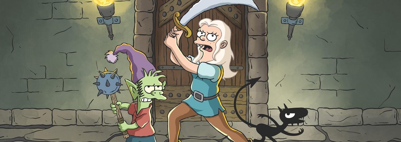 Matt Groening vytvořil bláznivý fantasy seriál. Nechybí v něm alkohol, elfové ani boje s příšerami